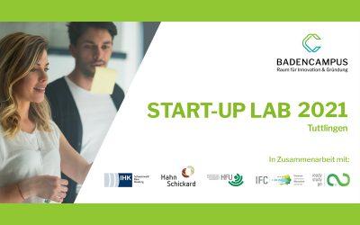 Start-up Lab 2021