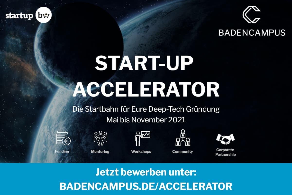 Logo Baden Campus Start-UP Accelerator