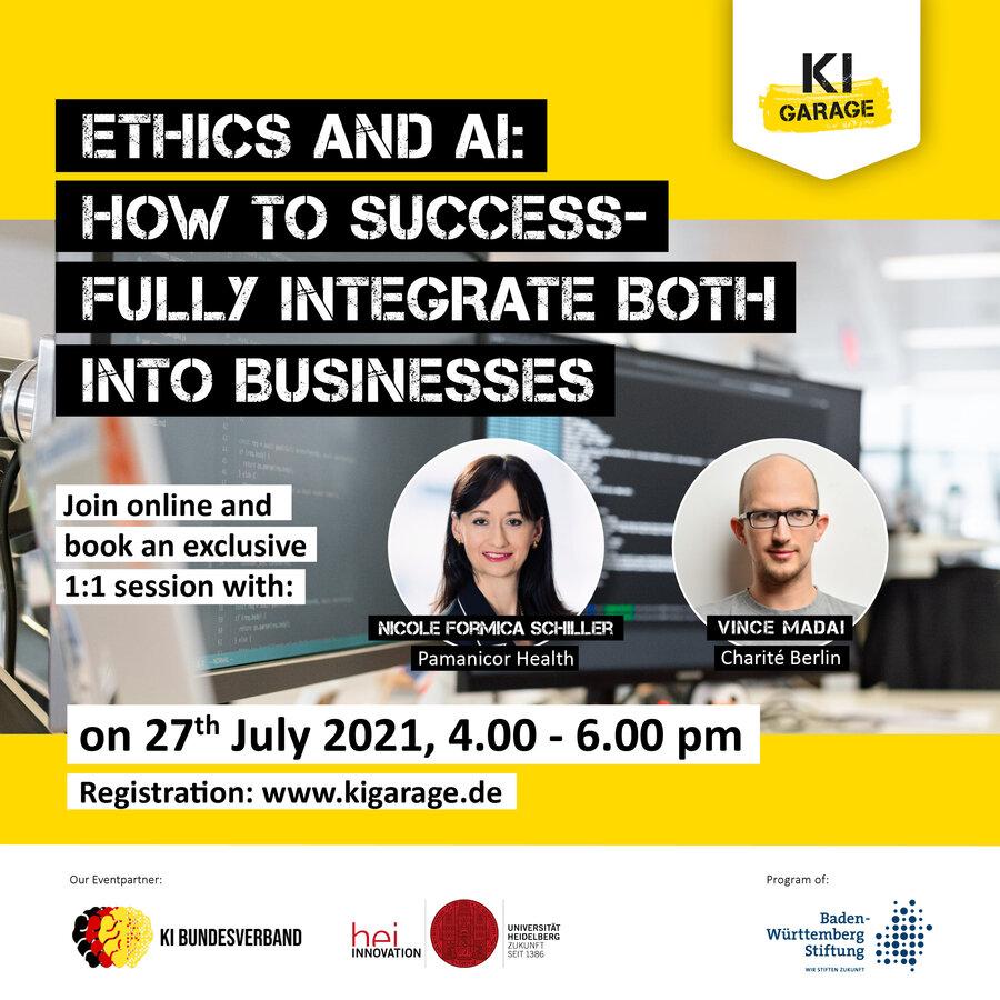 Logo KI Garage Ethics and AI