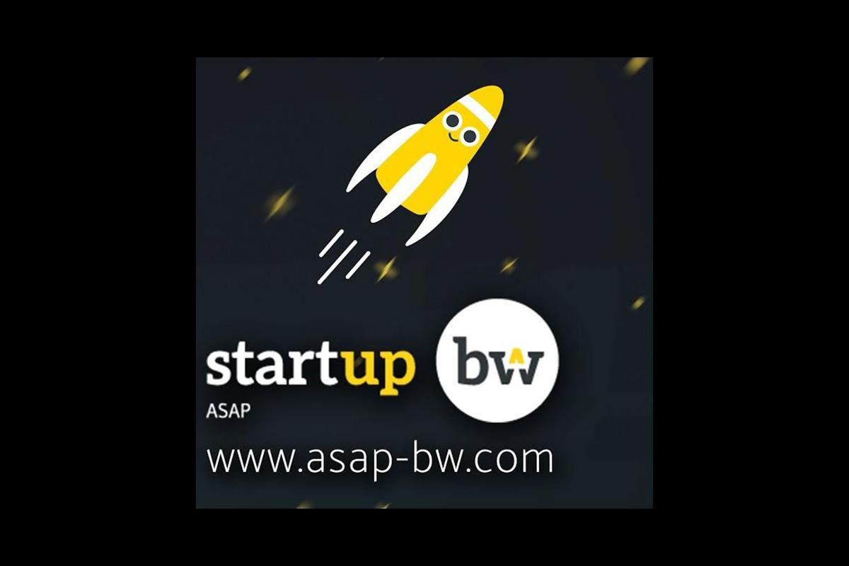 Logo startup bw asap
