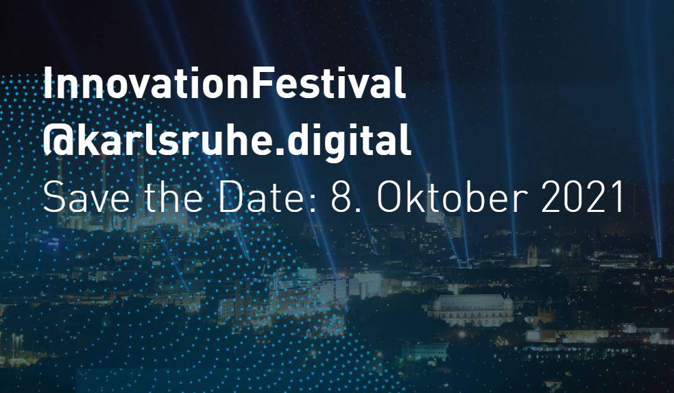 Bild Innovation Festival Karlssruhe